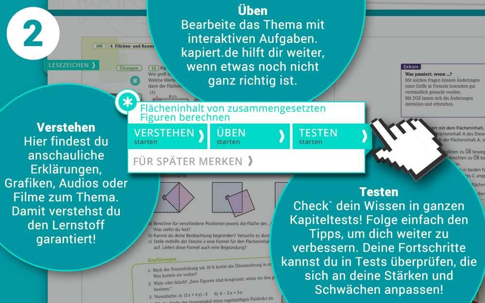 Screenshot kapiert.de Verstehen - Üben - Testen mit Erklärungen