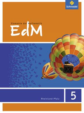 Elemente der Mathematik SI - Ausgabe 2016 für Rheinland-Pfalz Schülerband 5
