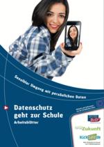 Klicksafe Datenschutz Broschüre