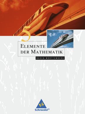 Elemente der Mathematik SI - Ausgabe 2004 für Baden-Württemberg Schülerband 5