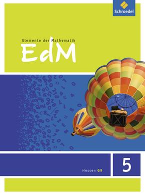 Elemente der Mathematik SI - Ausgabe 2013 für G9 in Hessen Schülerband 5