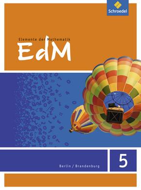 Elemente der Mathematik SI - Ausgabe 2016 für Berlin / Brandenburg Schülerband 5