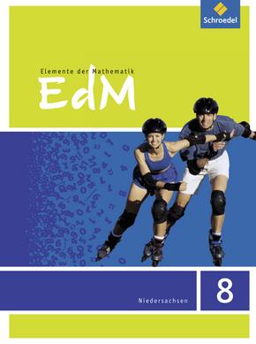 Elemente der Mathematik SI - Aktuelle Ausgabe für das G9 in Niedersachsen Schülerband 8
