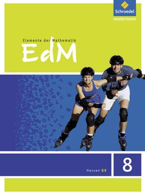 Elemente der Mathematik SI - Ausgabe 2013 für G9 in Hessen Schülerband 8