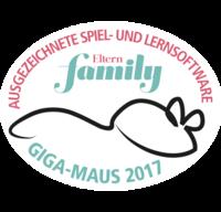 Giga-Maus 2017 - ausgezeichnete Spiel- und Lernsoftware - Eltern family