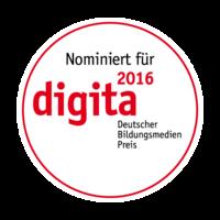 Nominiert für digita 2016 - Deutscher Bildungsmedien Preis