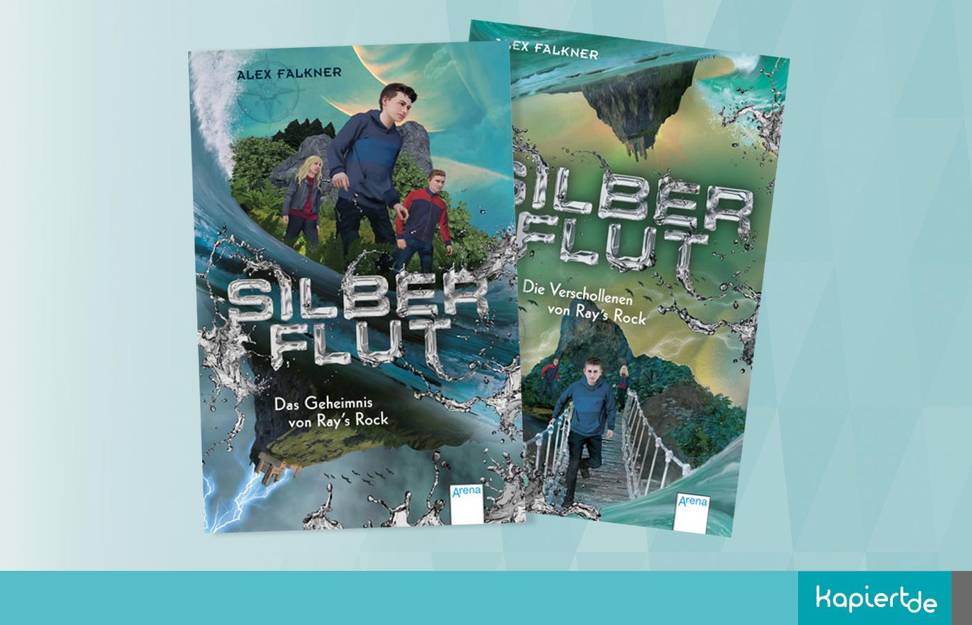 Silberflut 1 + 2 von Alex Falkner