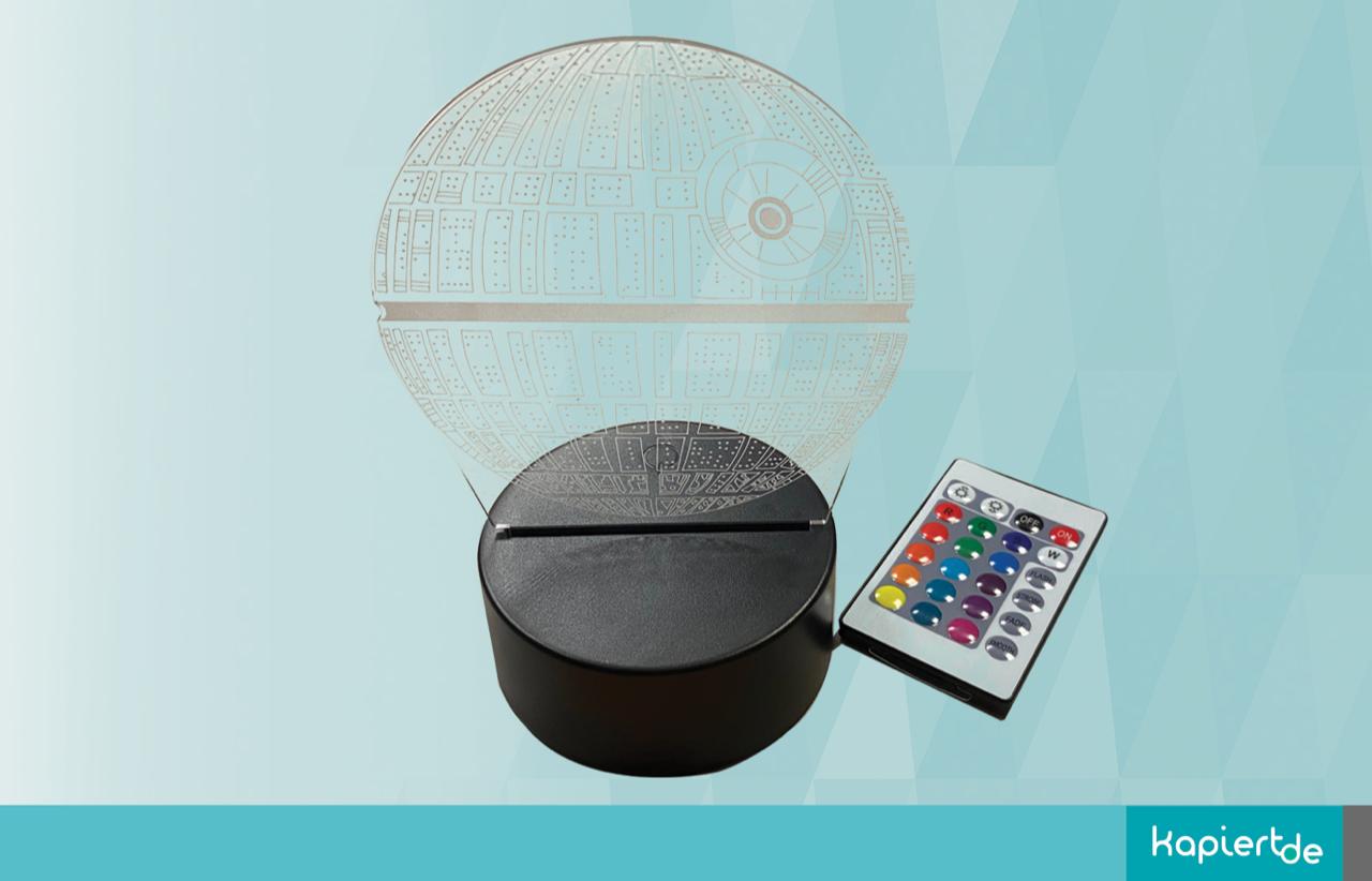 Star Wars 3D Lampe