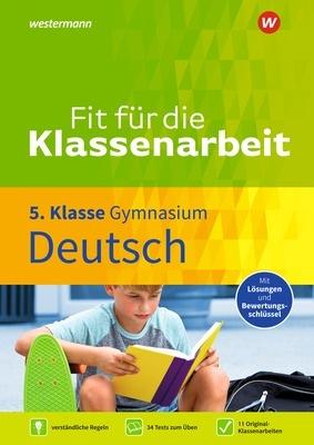 Fit für die Klassenarbeit Deutsch 5 Cover