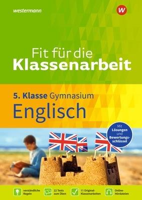 Fit für die Klassenarbeit Englisch 5 GYM Cover
