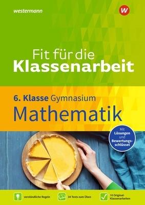 Fit für die Klassenarbeit Mathematik 6 Cover