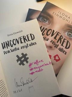 Ilona Einwohlt Uncovered signiert