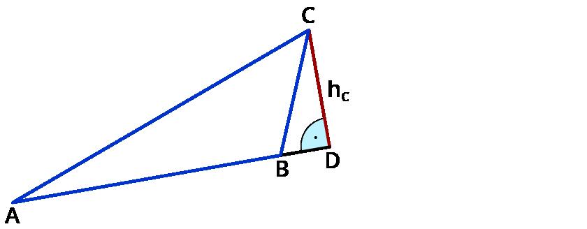 Mit Sinus, Kosinus, Tangens in beliebigen Dreiecken rechnen