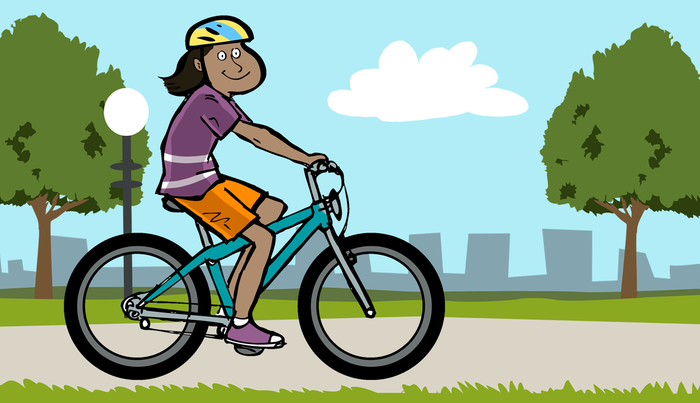 present progressive bike