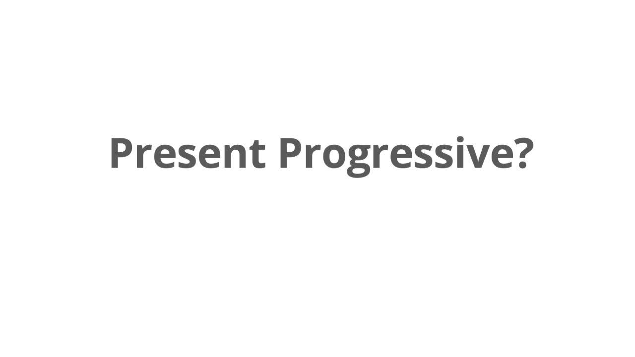 Simple present oder present progressive - Englisch Klasse 5/6 ...