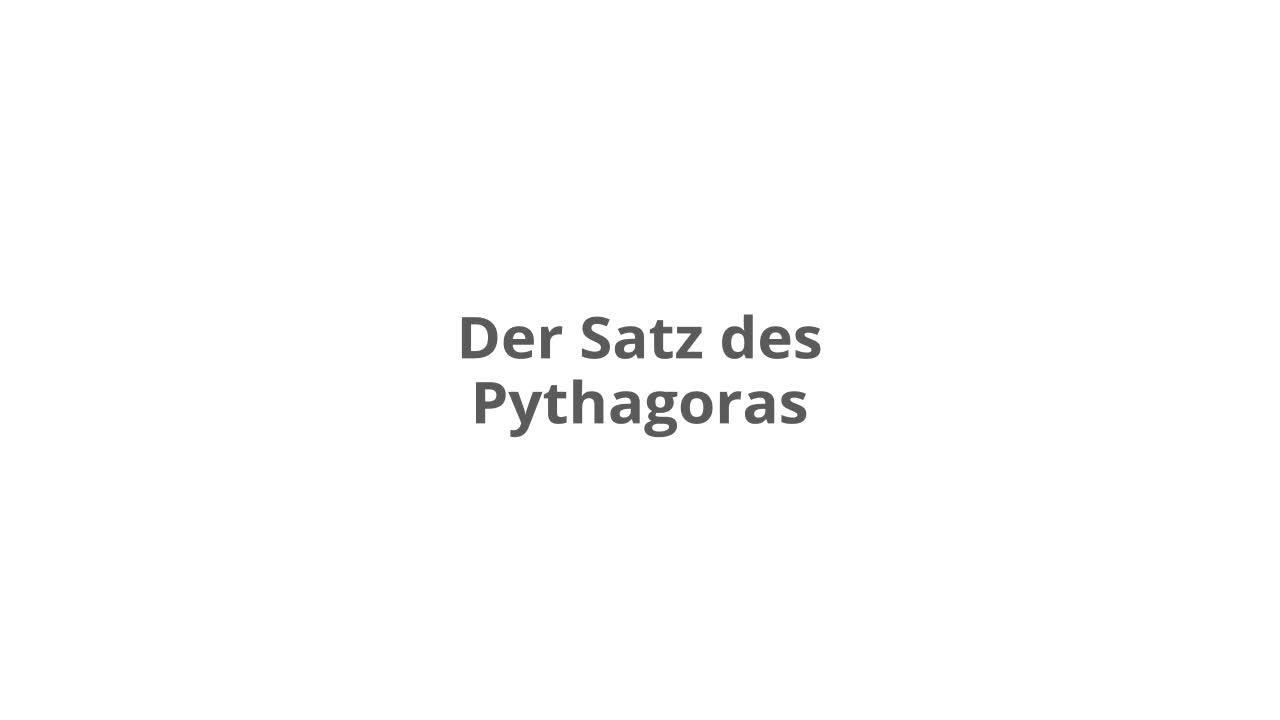 Erfreut Satz Des Pythagoras Arbeitsblatt Antworten Fotos - Super ...