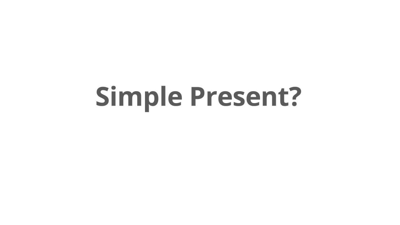 Fragen & Antworten (simple present) - Englisch Klasse 5/6 – kapiert.de