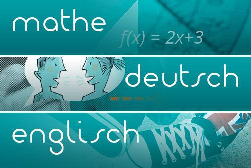 Online in Mathe, Deutsch und Englisch lernen