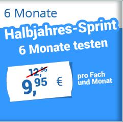 6 Monate Halbjahres-Sprint 9,95 €
