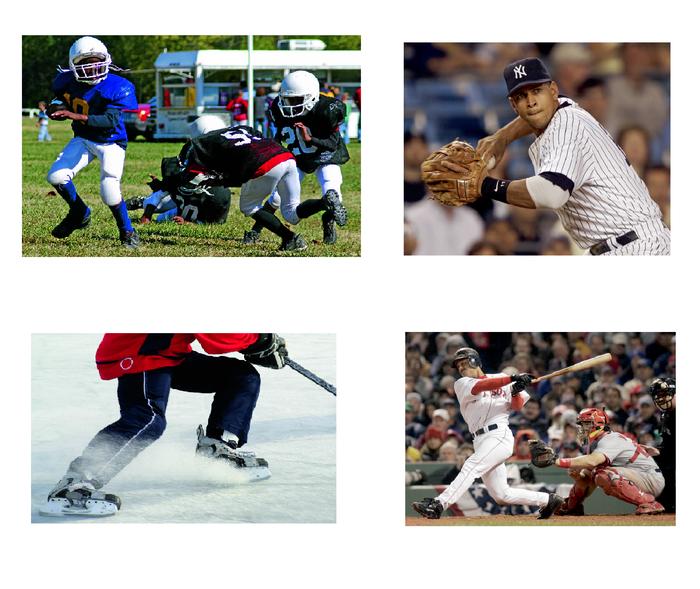 Amerikanische Sportarten