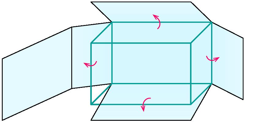 Oberfläche von Quader und Würfel – kapiert.de