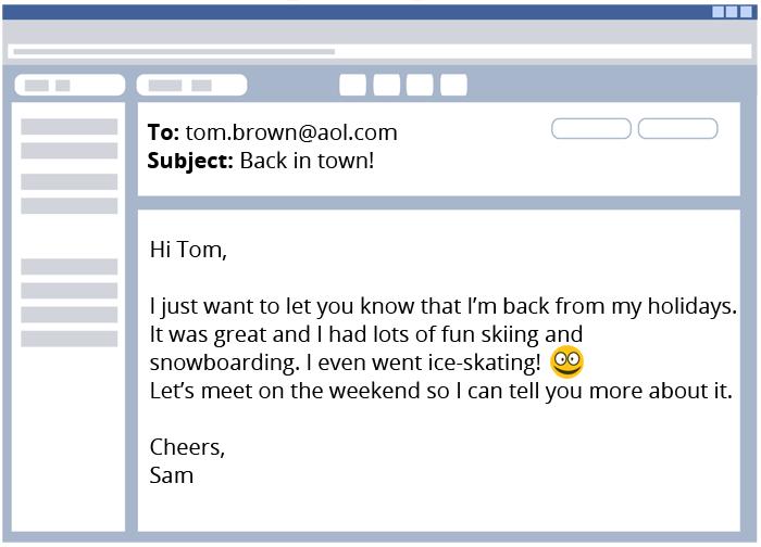 Verfassen Einer E Mail Englisch Klasse 9 Und 10 Kapiertde