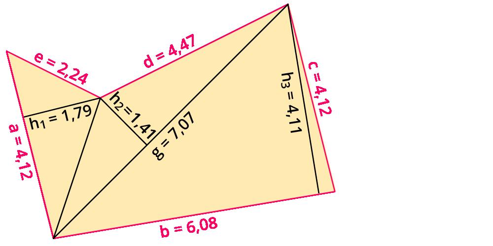 Berechnen von Umfang und Flächeninhalt von zusammengesetzten Figuren ...