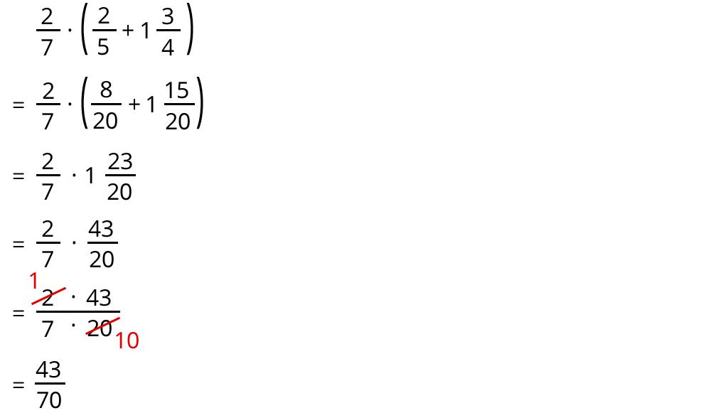 Multiplikation und Division von Brüchen – kapiert.de