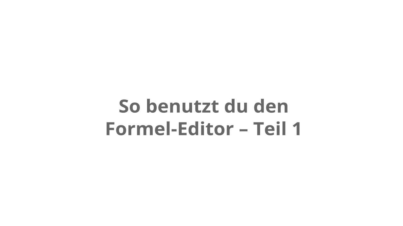 Addition und Substraktion von Brüchen – kapiert.de