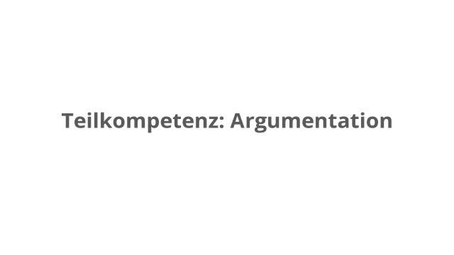 deutsch klasse 78 eine argumentation schreiben kapiertde - Gliederung Errterung Muster