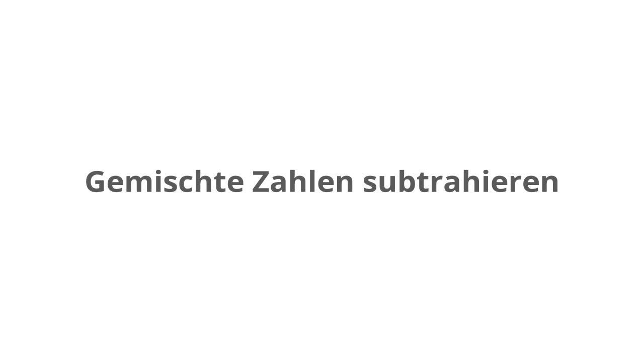 Addieren und Subtrahieren gleichnamiger Brüche – kapiert.de