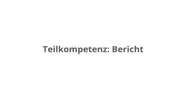 Einen Bericht untersuchen – kapiert.de